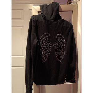 VS Angel Wing Zip Up Hoodie